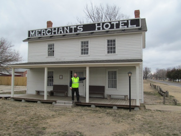 Merchants Hotel in Old Abilene Town