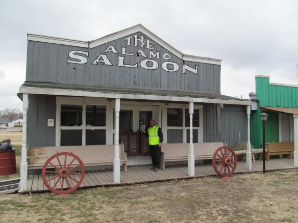 Saloon in Old Abilene Town