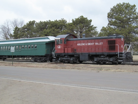 The Abilene & Smoky Valley Rail Line
