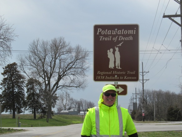Potawatomi Death Trail South of Overland Park