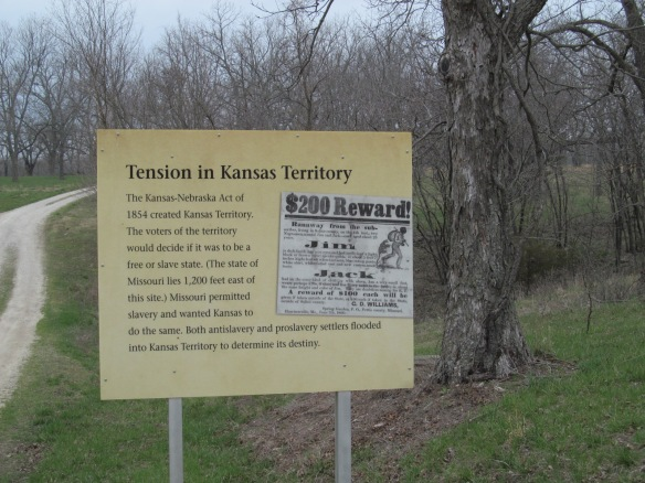Signage Information within the Massacre Site