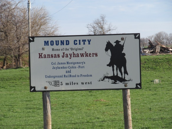 Signage Outside of Mound City