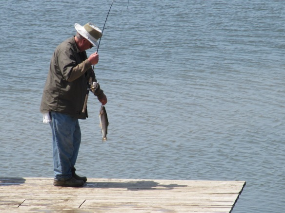 Fishing at Timber Hills Resort